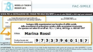 730 5x1000 a favore di carethepeople onlus