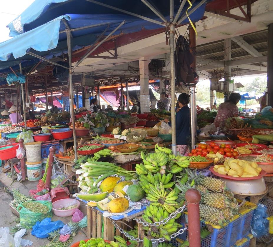 regione di da nang - il mercato